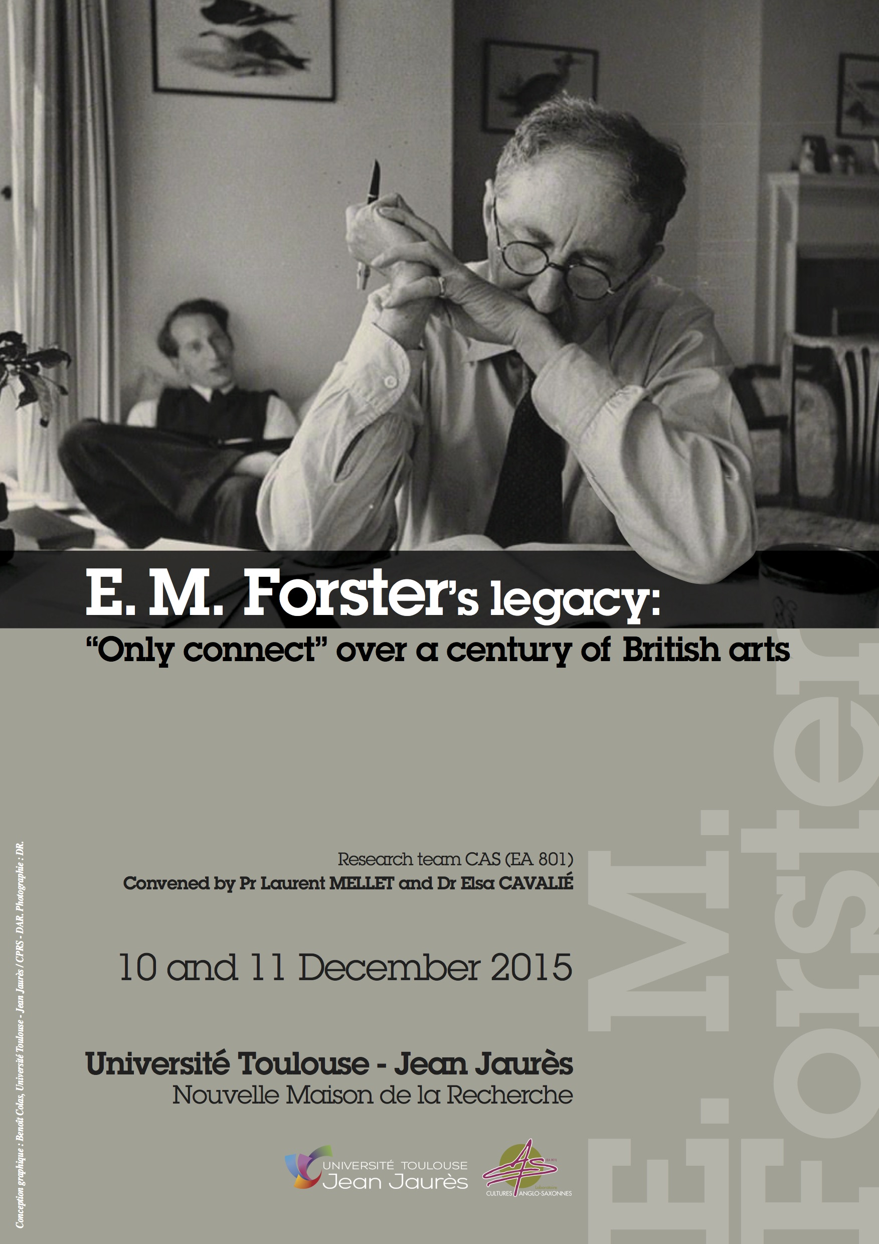 "E. M. Forster's legacy: ""Only connect"" over a century of British arts"